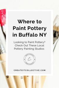 Where to Paint Pottery in Buffalo NY