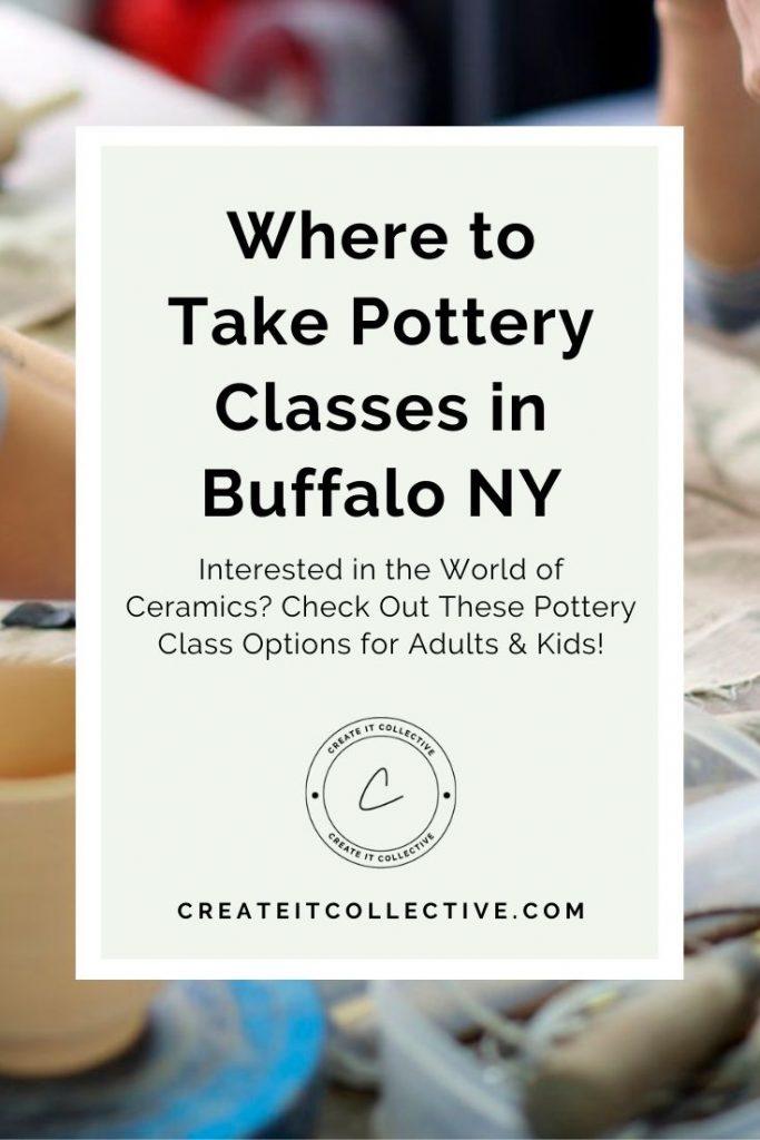 Where to Take Pottery Classes in Buffalo NY