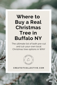 Where to Buy a Real Christmas Tree in Buffalo NY Guide