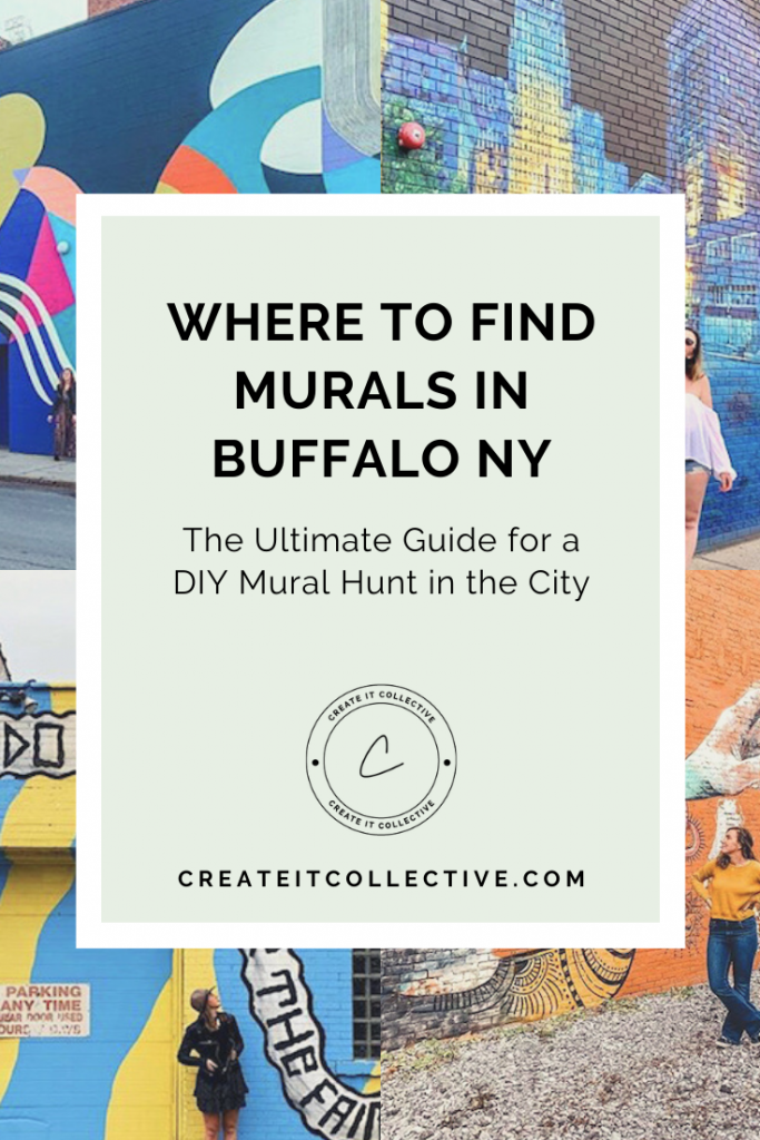 WHERE TO FIND MURALS IN Buffalo NY - Create it Collective