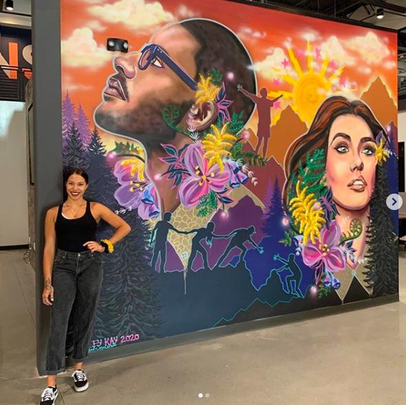 Ashley Kay - Mural Painter Artist - Buffalo NY Create it Collective 1
