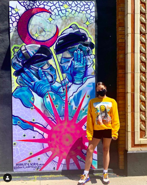 Ashley Kay - Mural Painter Artist - Buffalo NY Create it Collective 3