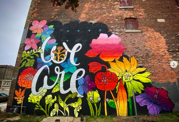 Chrisp - Mural Painter Artist - Buffalo NY Create it Collective
