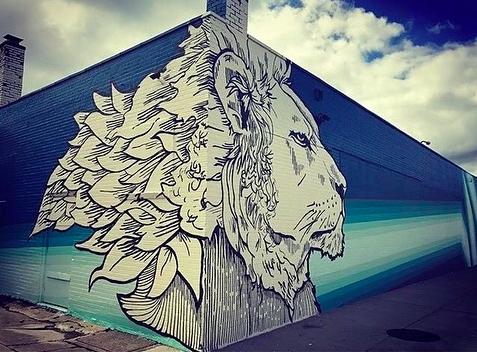 Edreys - Mural Painter Artist - Buffalo NY Create it Collective 3