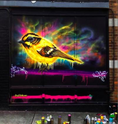 Elyssa Harper - Mural Painter Artist - Buffalo NY Create it Collective