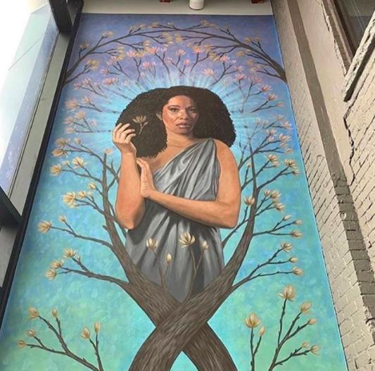 Julia Bottoms - Mural Painter Artist - Buffalo NY Create it Collective
