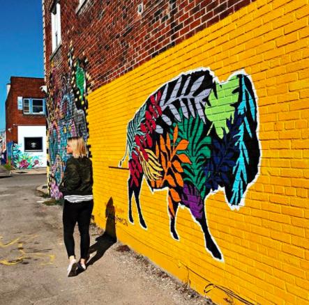 Nicole Cherry - Mural Painter Artist - Buffalo NY Create it Collective